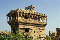 Salim Singh ki Haveli in Jaisalmer (Rajasthan), Indien