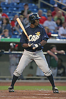 Charleston RiverDogs Austin Jackson during the South Atlantic League All-Star game at Classic Park on June 20, 2006 in Eastlake, Ohio.  (Mike Janes/Four Seam Images)