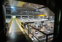 - Consortium for Scientific and Technological Research in Trieste, Science Park area of Padriciano; interior of ELETTRA Synchrotron ....- Consorzio per la Ricerca Scientifica e Tecnologica di Trieste, area Science Park di Padriciano; interno del sincrotrone ELETTRA