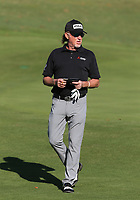17th October 2020; Richmond, Virginia, USA; Miguel Angel Jiménez walks off the 8th green during the Dominion Energy Charity Classic on October 17, 2020, at The Country Club of Virginia James River Course in Richmond