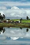 Farmland, Cordillera de los Andes, Ecuador