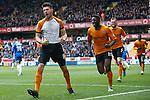 Wolverhampton Wanderers v Peterborough United<br /> 5.4.2014<br /> Sky Bet League One<br /> Picture Shaun Flannery/Trevor Smith Photography<br /> Wolves Danny Batth celebrates his goal.