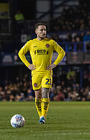 Fleetwood Town's Barrie McKay preparing to take a free kick<br /> <br /> Photographer David Horton/CameraSport<br /> <br /> The EFL Sky Bet League One - Portsmouth v Fleetwood Town - Tuesday 10th March 2020 - Fratton Park - Portsmouth<br /> <br /> World Copyright © 2020 CameraSport. All rights reserved. 43 Linden Ave. Countesthorpe. Leicester. England. LE8 5PG - Tel: +44 (0) 116 277 4147 - admin@camerasport.com - www.camerasport.com