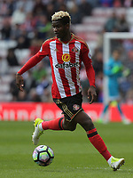 Didier Ndong of Sunderland in action during the Premier League match between Sunderland and Swansea City at the Stadium of Light, Sunderland, England, UK. Saturday 13 May 2017