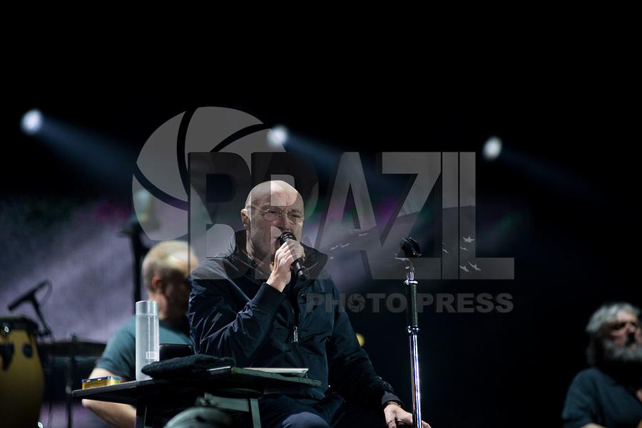 PORTO ALEGRE, RS, 27.02.2018 – SHOW-RS – Músico britânico Phil Collins durante turnê solo no Estádio Beira na cidade de Porto Alegre, no Rio Grande do Sul nesta terça-feira (Foto: Rodrigo Ziebell/Brazil Photo Press)