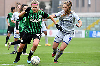 Kamila Dubcova of Sassuolo and Sofia Meneghini of Hellas Verona in action during the women Serie A football match between US Sassuolo and Hellas Verona at Enzo Ricci stadium in Sassuolo (Italy), November 15th, 2020. Photo Andrea Staccioli / Insidefoto