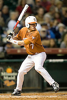 NCAA Baseball featuring the Texas Longhorns against the Missouri Tigers. Etier, Jordan 3627  at the 2010 Astros College Classic in Houston's Minute Maid Park on Sunday, March 7th, 2010. Photo by Andrew Woolley