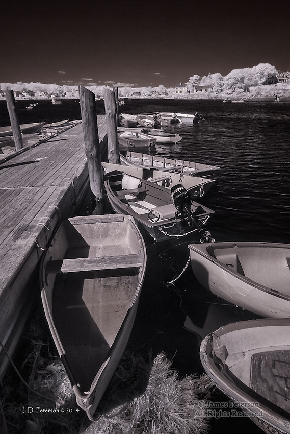Porpoise Pier, Kennebunkport, Maine (Infrared)
