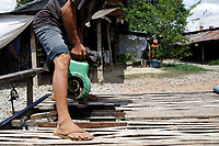 Battambang - Cambodia - June 2020<br /> - Original Bamboo Train