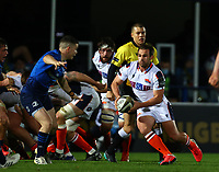 16th November 2020; RDS Arena, Dublin, Leinster, Ireland; Guinness Pro 14 Rugby, Leinster versus Edinburgh; Nic Groom (Edinburgh) attempts to get around the side of a scrum