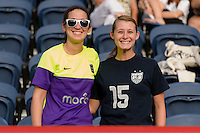 Chicago, IL - Sunday Sept. 04, 2016: Seattle fans prior to a regular season National Women's Soccer League (NWSL) match between the Chicago Red Stars and Seattle Reign FC at Toyota Park.