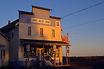 Historic Laurel Valley Grocery Store at sunrise in rural Oregon State