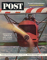 Saturday Eve Post, May 1963, Antique Airplanes. Photo by John G. Zimmerman.