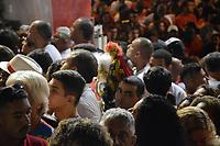 RIO DE JANEIRO, 23,04,2018 - DIA-SÃO JORGE - Fiéis se reúnem em comemoração ao dia de São Jorge na igreja de Quintino na zona norte do Rio de Janeiro nesta segunda -feira 23, (foto Jorge Hely / Brazil Photo Press)
