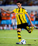 SHENZHEN - JULY 28: Borussia Dortmund midfielder Mikel Merino in action during the match between Borussia Dortmund vs Manchester City FC at the 2016 International Champions Cup China match at the Shenzhen Stadium on 28 July 2016 in Shenzhen, China. (Photo by Power Sport Images/Getty Images)