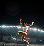 SHANGHAI, CHINA - MAY 19:  Ivana Spanovic of Serbia competes the Women Long Jump during the Samsung Diamond League on May 19, 2012 at the Shanghai Stadium in Shanghai, China.  Photo by Victor Fraile / The Power of Sport Images