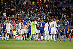 Real Madrid and Schakle 04 during Champions League soccer match at Santiago Bernabeu stadium in Madrid, Spain. March, 10, 2015. (ALTERPHOTOS/Caro Marin)