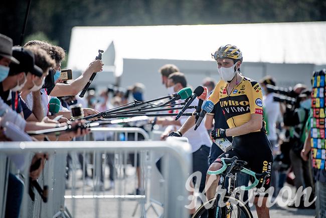 post-race interviews in 2020<br /> <br /> Stage 5: Megève to Megève (154km)<br /> 72st Critérium du Dauphiné 2020 (2.UWT)<br /> <br /> ©kramon