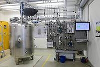 GERMANY, Hamburg, methan gas reactor for power to gas solution / Hamburg Bergedorf Energiecampus CC4E, Power to Gas, Methangas Erzeugung, Methanisierung, Speicherlösung