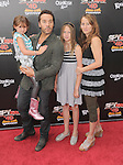Jeremy Piven with his sister & his nieces at The Weinstein Company World Premiere of Spy Kids: All the Time in the World in 4 held at The Regal Cinames,L.A. Live in Los Angeles, California on July 31,2011                                                                               © 2011 Hollywood Press Agency