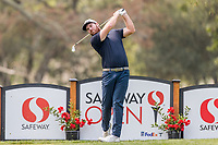 11th September 2020, Napa, California, USA;  Grayson Murray of the United States tees off during the second round of the Safeway Open PGA tournament on September 11, 2020 at Silverado Country Club in Napa, CA.