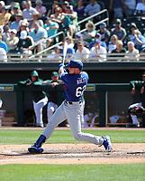 Luke Raley - Los Angeles Dodgers 2020 spring training (Bill Mitchell)