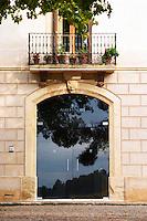 The entrance. Albet i Noya. Penedes Catalonia Spain