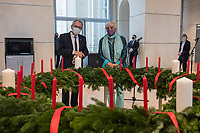 2020/11/25 Bundestag | Adventskranz