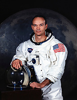 (JULY 1969) --- MICHAEL COLLINS astronaut. Collins resigned from the NASA space program since this picture was taken.