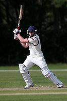 Harry Phillips in batting action for Brentwood during Brentwood CC vs Wanstead and Snaresbrook CC, Essex Cricket League Cricket at The Old County Ground on 12th September 2020