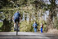 Elizabeth Deignan (GBR/Trek-Segafredo) solo to victory<br /> <br /> 4th Liège-Bastogne-Liège-Femmes 2020 (1.WWT)<br /> 1 Day Race: Bastogne – Liège 135km<br /> <br /> ©kramon