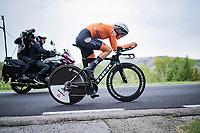 eventual bronze medalist Ellen van Dijk (NED/Trek-Segafredo)<br /> <br /> Women Elite Time trial from Imola to Imola (31.7km)<br /> <br /> 87th UCI Road World Championships 2020 - ITT (WC)<br /> <br /> ©kramon