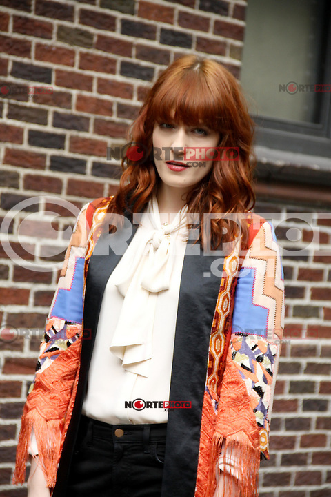 Florence Welch of Florence and the Machine  at ''Late Night with David Letterman'', New York, 09.05.2012...Credit: Jackman/face to face /MediaPunch Inc. ***FOR USA ONLY***