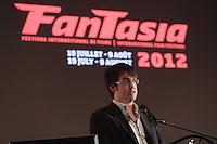Montreal (QC) CANADA - July 11 , 2012 - Fantasia 2012 press conference - Nicolas Archambault