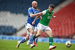 22.05.2021 Scottish Cup Final, St Johnstone v Hibs: Chris Kane and Paul McGinn