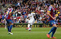 Pictured: Marvin Emnes of Swansea (C)<br /> Re: Premier League match between Crystal Palace and Swansea City at Selhurst Park on Sunday 24 May 2015 in London, England, UK