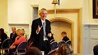 BNPS.co.uk (01202) 558833. <br /> Pic: Heart&SoulFilms/BNPS<br /> <br /> Pictured: Lawyer, Clive Stafford<br /> <br /> Schoolchildren as young as 12 took part in an eight hour mock trial of a millionaire Tory MP over slavery 'charges' relating to his ancestors, it has been revealed.<br /> <br /> Richard Drax was put in the fictional dock charged with 'benefitting from the proceeds of slavery' due to his relatives' involvement in the slave trade.<br /> <br /> Forty pupils aged between 12 and 18 were involved in the case, taking on the roles of prosecution and defence lawyers while others were split into three juries.<br /> <br /> The event was organised by leading human rights lawyer Clive Stafford Smith who acted as the judge.