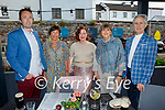 Enjoying the evening in the Ashe Hotel on Friday evening, l to r: Kevin Ryle, Catherine Doyle, Karen Soffe, Mary Barret and David Buckley.