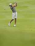 SINGAPORE - MARCH 05:  Lorena Ochoa of Mexico plays a shot on the par five 15th hole during the first round of HSBC Women's Champions at the Tanah Merah Country Club on March 5, 2009 in Singapore. Photo by Victor Fraile / The Power of Sport Images
