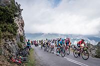 up the Alto de La Cubilla<br /> <br /> Stage 16: Pravia to Alto de La Cubilla. Lena (144km)<br /> La Vuelta 2019<br /> <br /> ©kramon