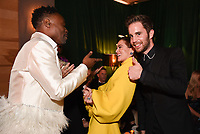 BEVERLY HILLS - JANUARY 5: (L-R) FX's POSE cast member Billy Porter, THE POLITICIAN cast members Zoey Deutch and Ben Platt attend The Walt Disney Company 2020 Golden Globe Awards Nominee Celebration at The Disney Terrace on the Roof Deck at the Beverly Hilton on January 5, 2020 in Beverly Hills, California. (Photo by Frank Micelotta/The Walt Disney Company/PictureGroup)