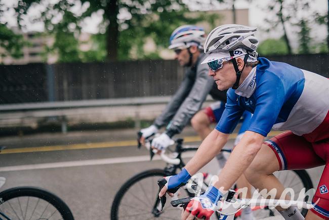 Arnaud Démare (FRA/Groupama-FDJ)<br /> <br /> Stage 4: Gansingen > Gstaad (189km)<br /> 82nd Tour de Suisse 2018 (2.UWT)
