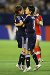 (L to R) Hanae Shibata (JPN), Hikaru Naomoto (JPN), .AUGUST 26, 2012 - Football / Soccer : .FIFA U-20 Women's World Cup Japan 2012, Group A .match between Japan 4-0 Switzerland .at National Stadium, Tokyo, Japan. .(Photo by Daiju Kitamura/AFLO SPORT) [1045]