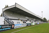 General view of the Barnet & Southgate College Stand during Arsenal Ladies vs Doncaster Rovers Belles, FA Women's Super League FA WSL1 Football at Meadow Park, Boreham Wood FC on 30th October 2016