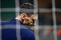 Hugo Lloris of France reacts during the warm up prior to the Uefa Nations League final match between Spain and France at San Siro stadium in Milano (Italy), October 10th, 2021. Photo Andrea Staccioli / Insidefoto