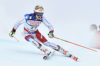 February 17, 2017: Loic MEILLARD (SUI) competing in the men's giant slalom event at the FIS Alpine World Ski Championships at St Moritz, Switzerland. Photo Sydney Low