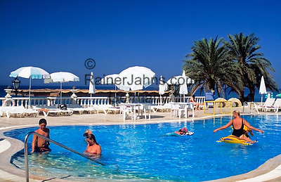 Turkey, Province Antalya, Alanya: holiday resort at Mediterranean Sea, Hotel Alantur: Pool