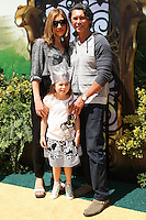 """WESTWOOD, LOS ANGELES, CA, USA - MAY 03: Yvonne Boismier Phillips, Lou Diamond Phillips at the Los Angeles Premiere Of """"Legends Of Oz: Dorthy's Return"""" held at the Regency Village Theatre on May 3, 2014 in Westwood, Los Angeles, California, United States. (Photo by Celebrity Monitor)"""