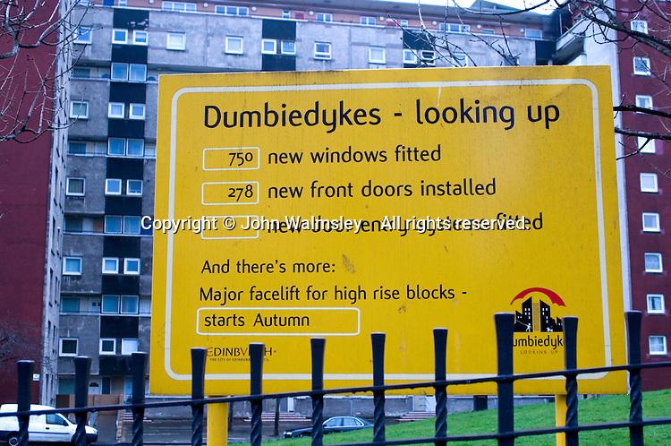 Upgrading highrise properties in central Edinburgh