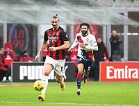 Milano 07-02-2021<br /> Stadio Giuseppe Meazza<br /> Serie A  Tim 2020/21<br /> Milan - Crotone nella foto:   Zlatan Ibraimovic                                                       <br /> Antonio Saia Kines Milano